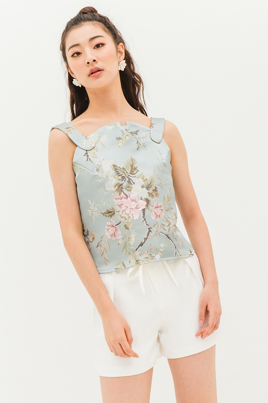 *SALE* MIWU TOP - BLOSSOM [BY MODPARADE]
