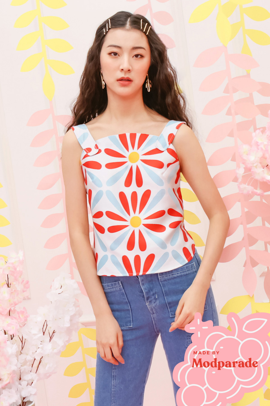 *RESTOCKED* MIWU TOP - SUN DAISY [BY MODPARADE]