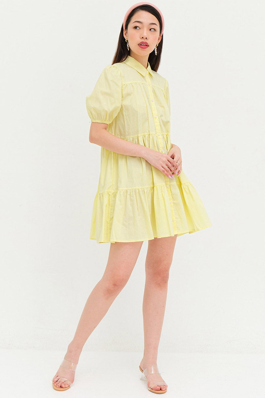 NATALIE DRESS - BUTTERCUP