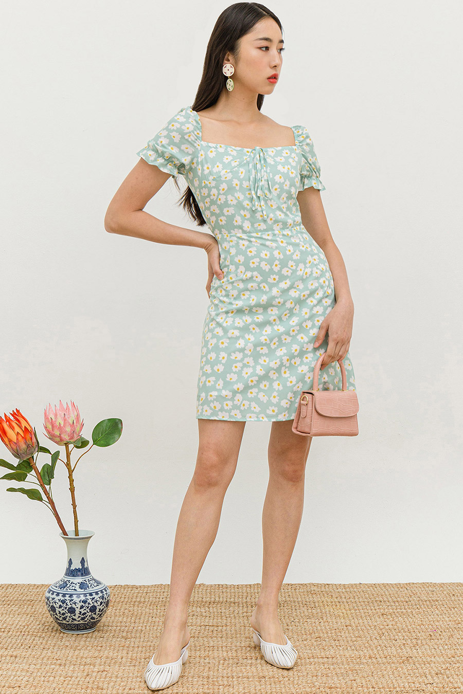 *RESTOCKED* NATALIE DRESS - DAISY