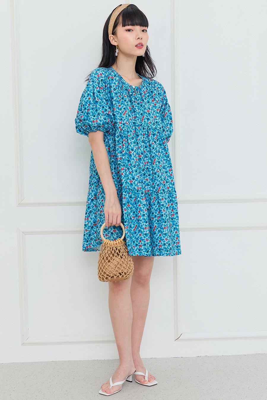 NISHA DRESS - BAHAMA FLEUR