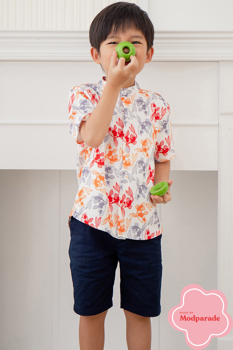 NOAH JUNIOR SHIRT - KINGYO [BY MODPARADE]