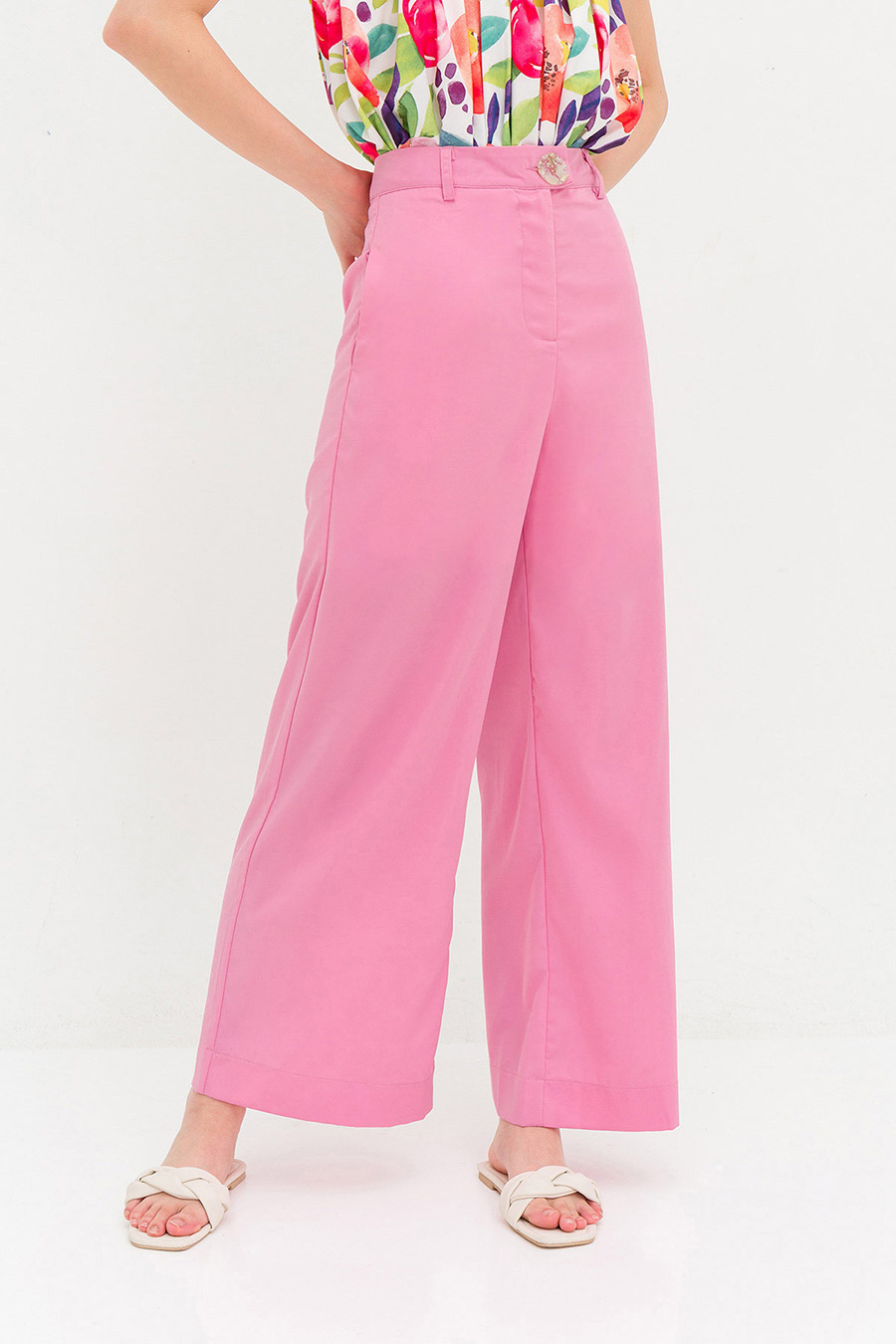 NORMAN PANTS - BUBBLEGUM [BY MODPARADE]