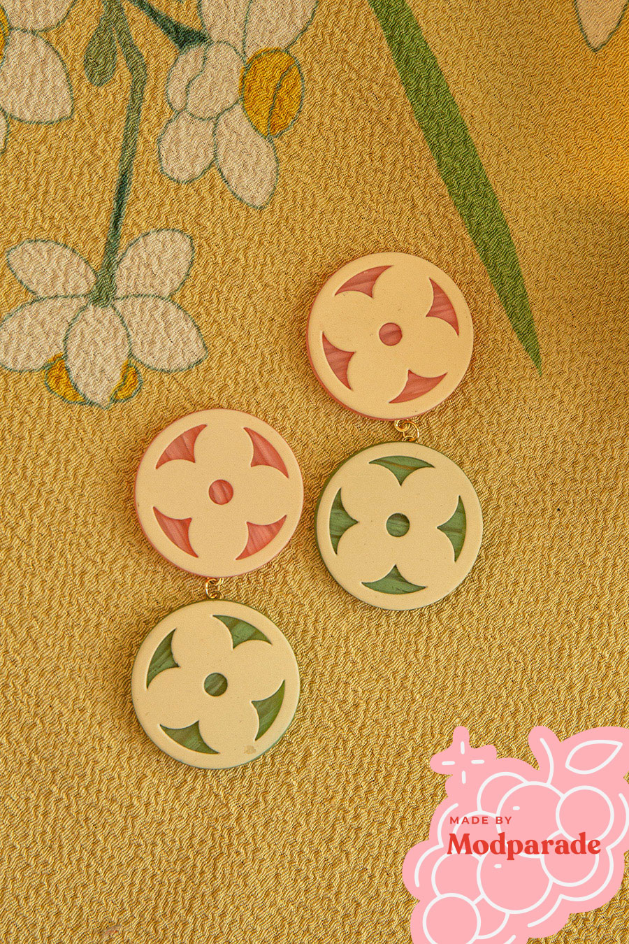 *RESTOCKED* NYONYA EARRING - PASTEL [BY MODPARADE]