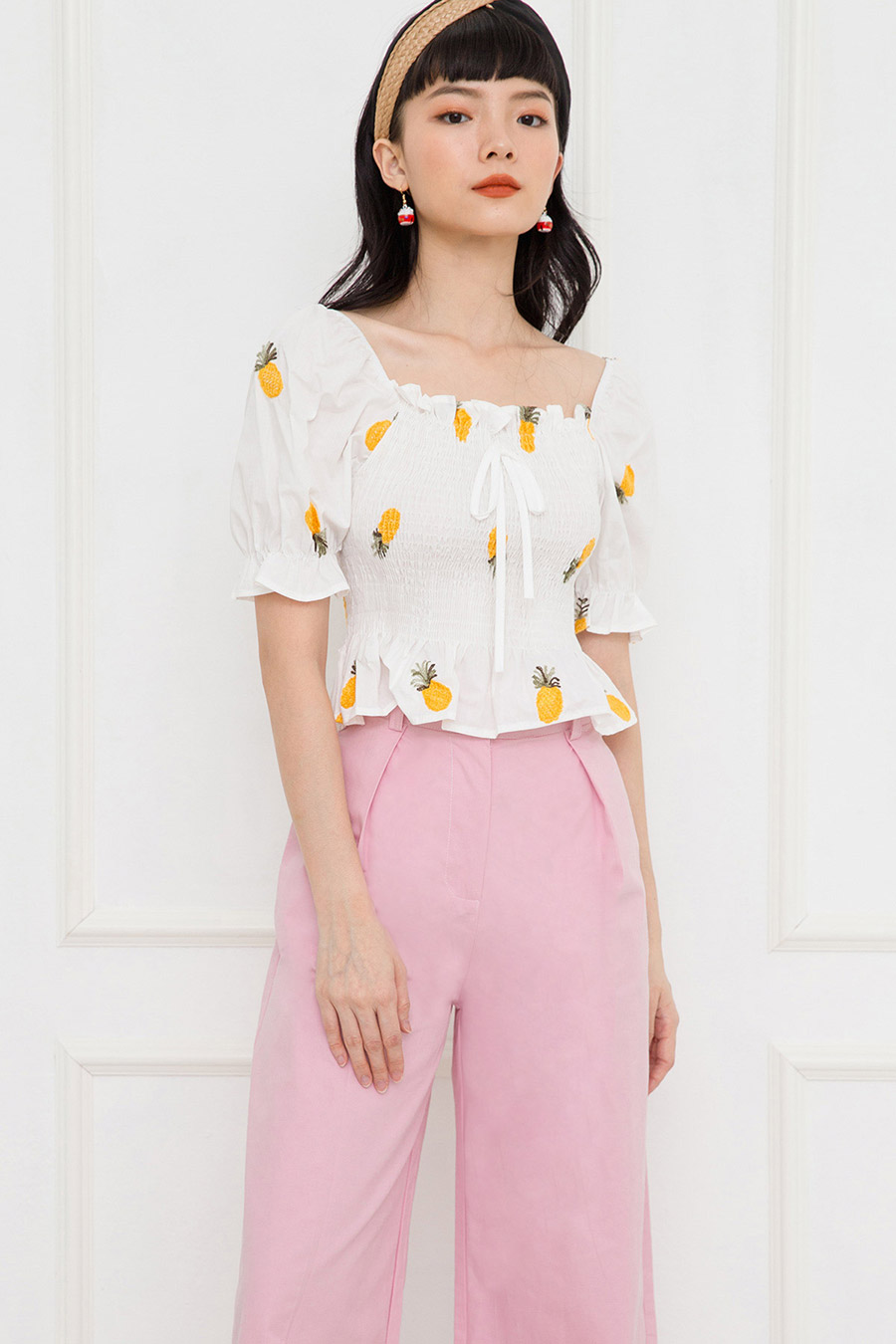ODILE TOP - PINEAPPLE