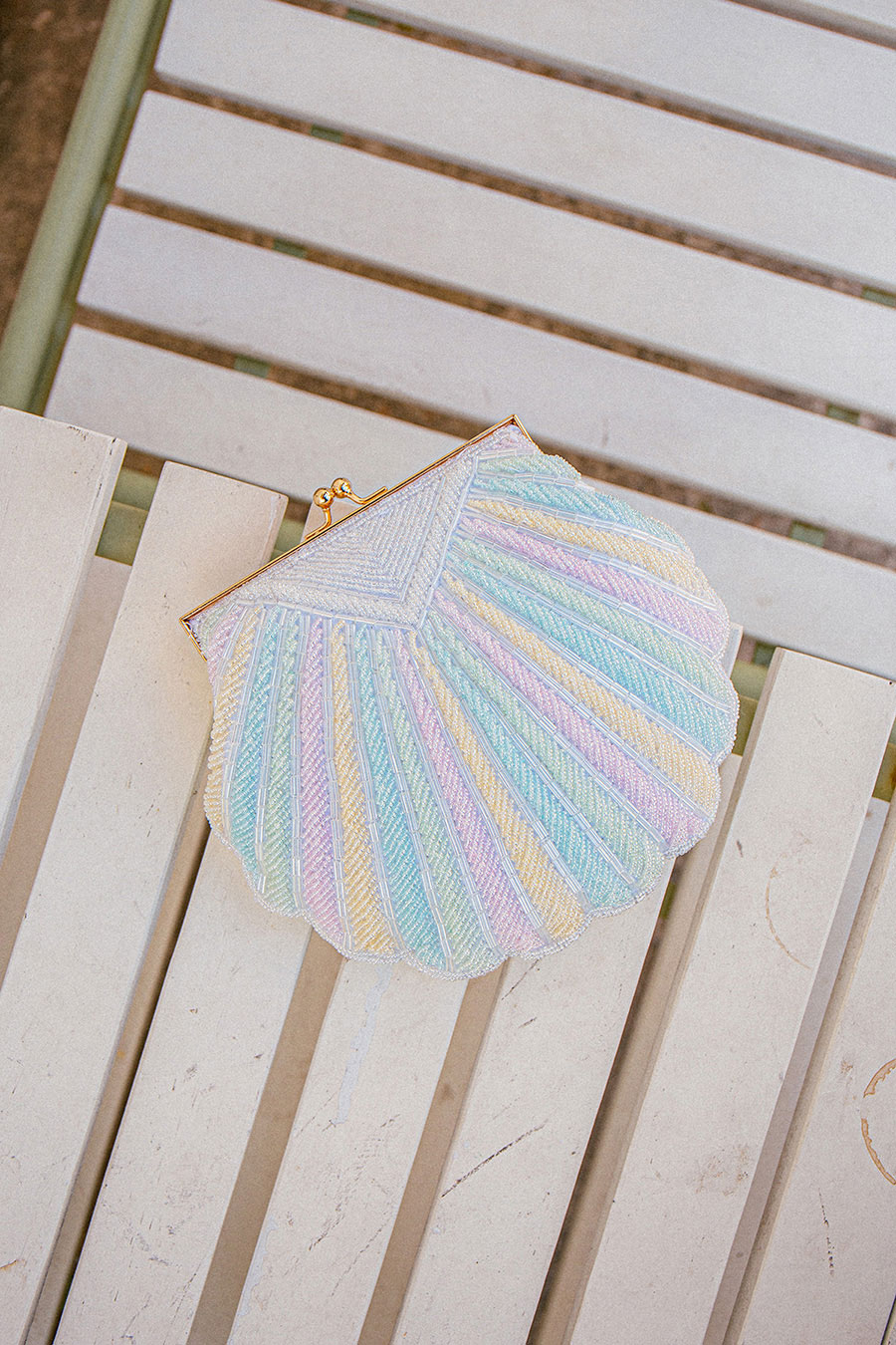 *BO 3*OGUM BAG - RAINBOW SEASHELL