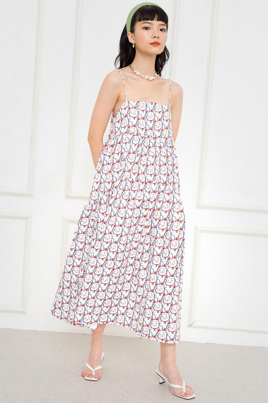 *BO 2* OLIVIA DRESS - MANEKI NEKO [BY MODPARADE]