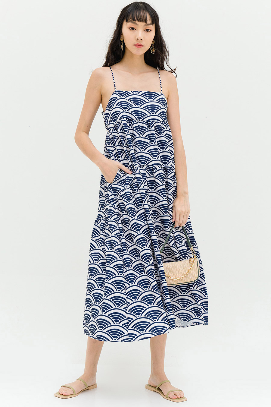 *RESTOCKED* OLIVIA DRESS - KANAGAWA [BY MODPARADE]