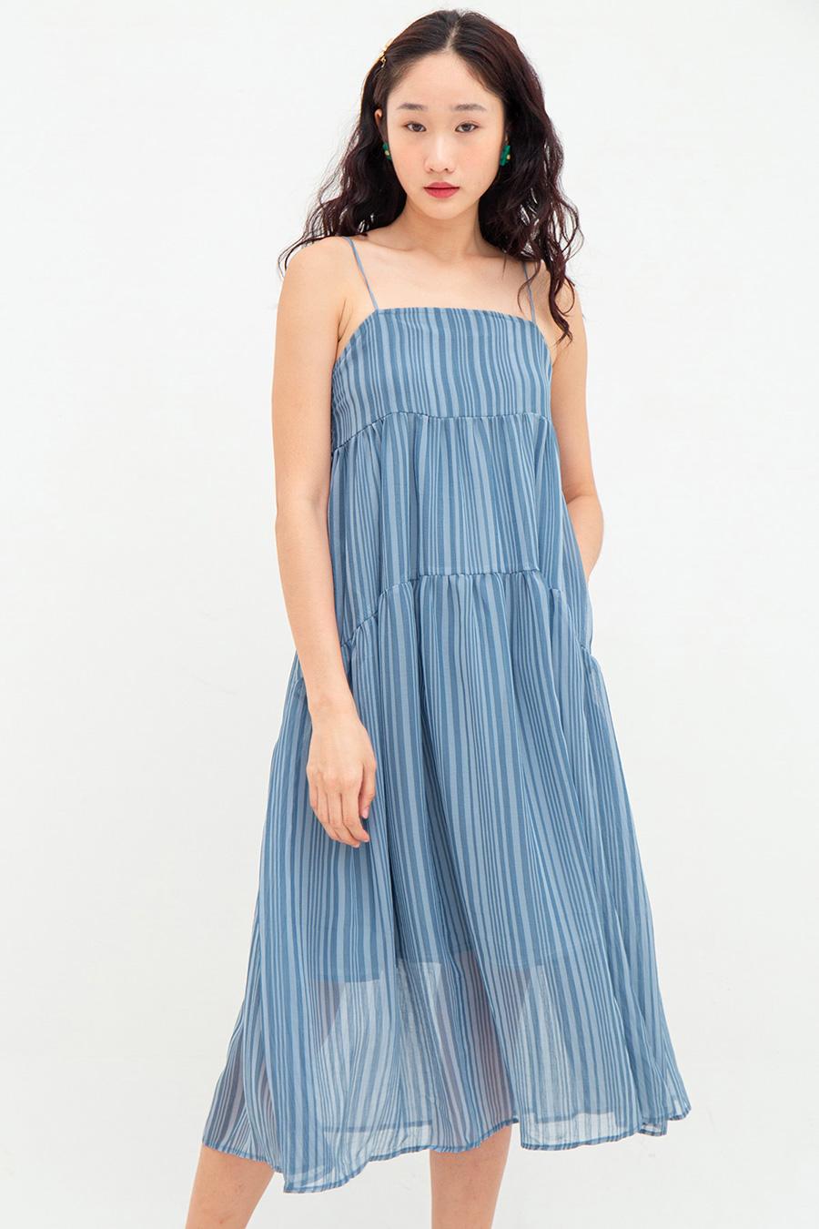 OLIVIA DRESS - MALIBU [BY MODPARADE]