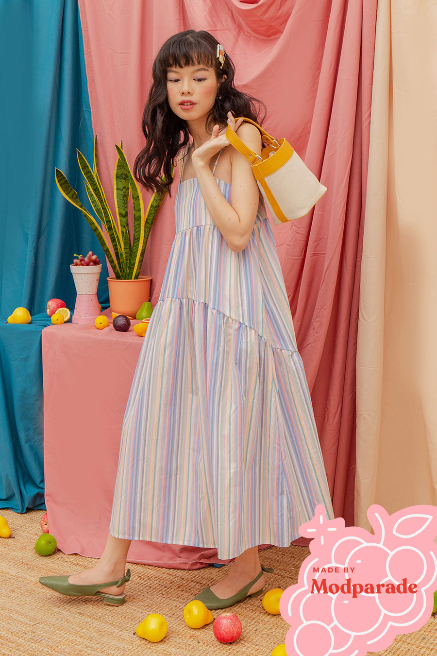 *RESTOCKED* OLIVIA DRESS - PADDLEPOP [BY MODPARADE]