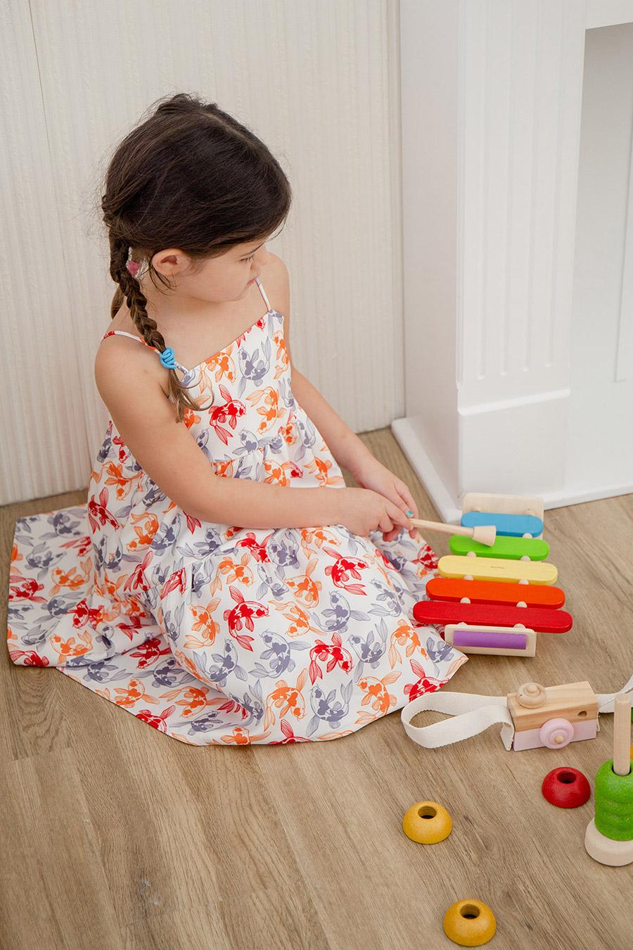 OLIVIA JUNIOR DRESS - KINGYO [BY MODPARADE]