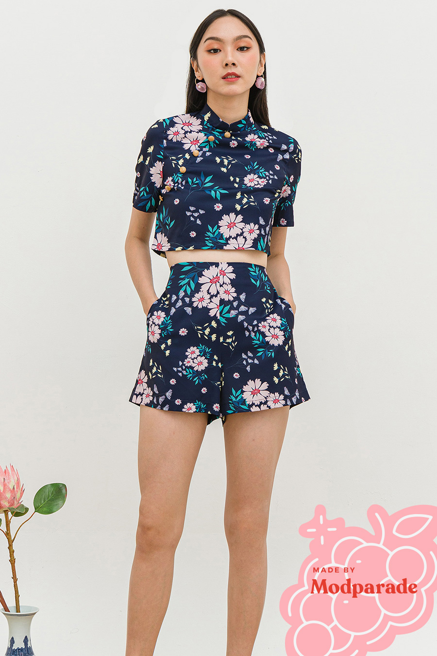 ONOMI SHORTS - VERBENA [BY MODPARADE]