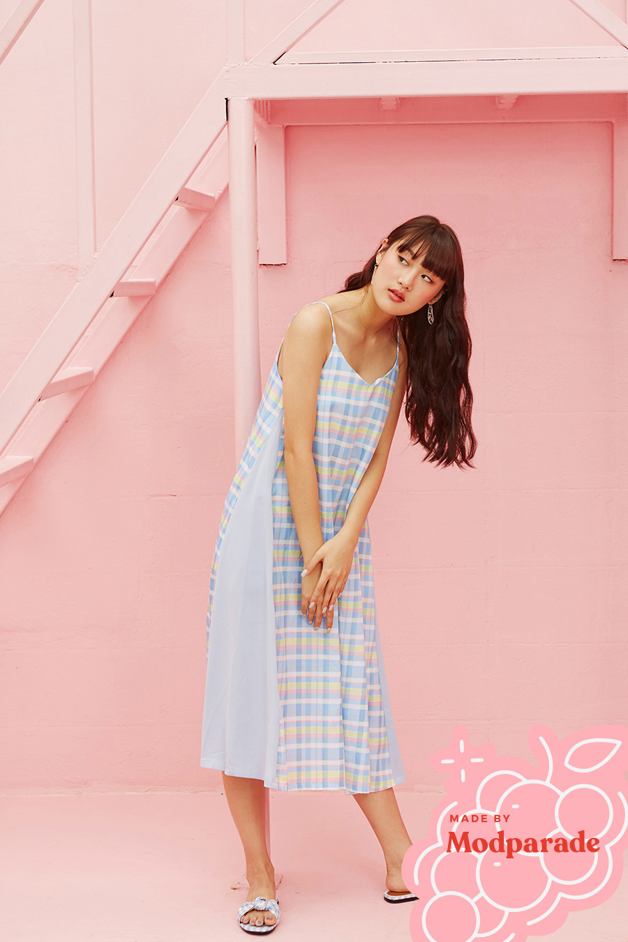PACOME DRESS - SUMMER POP [BY MODPARADE]