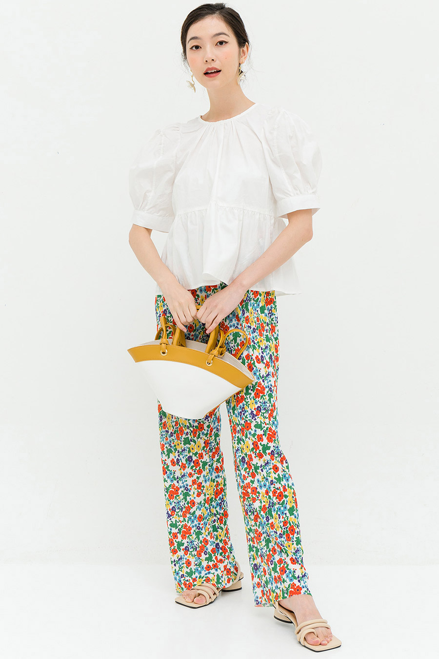 PANSY TOP - IVORY
