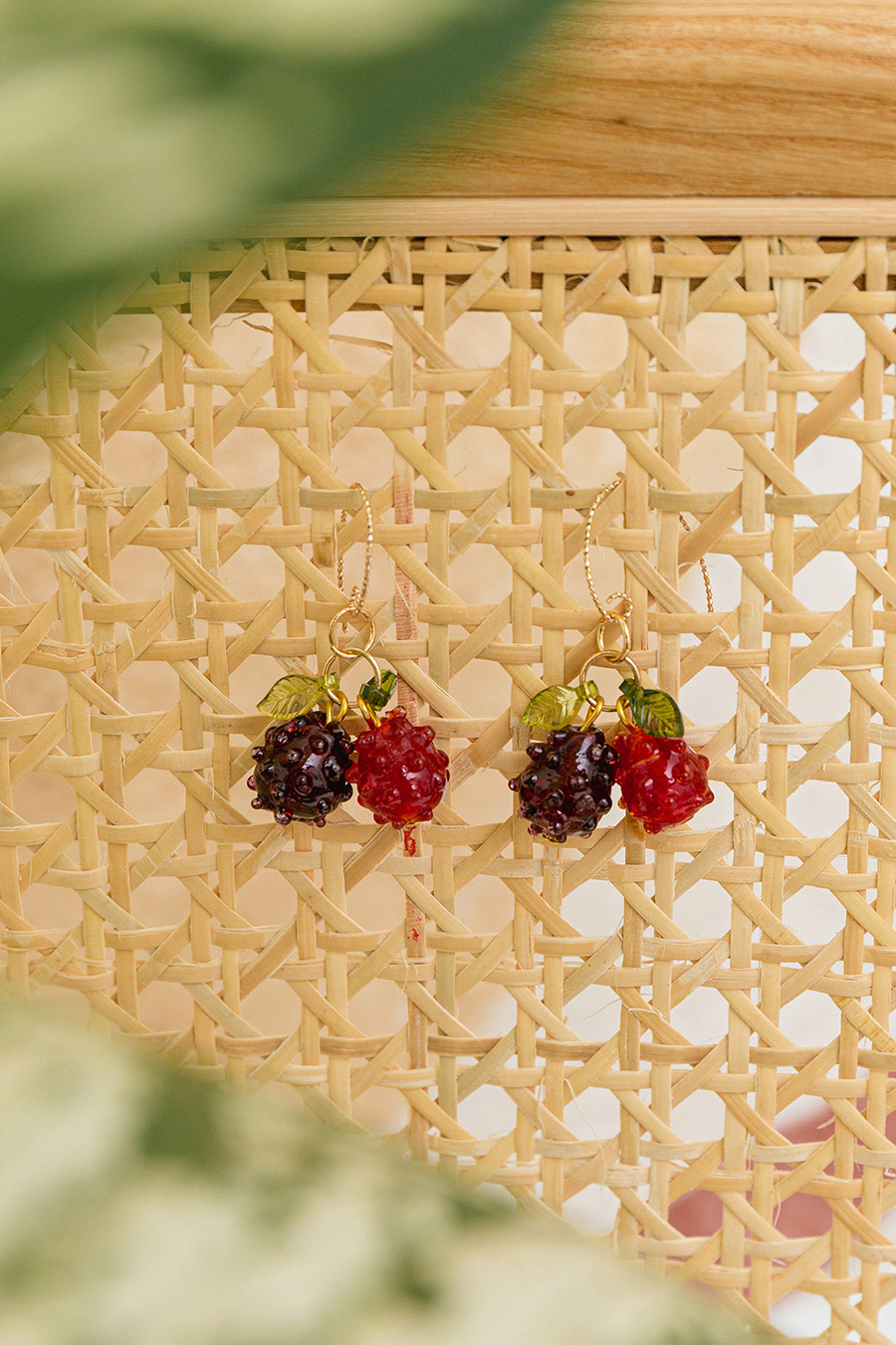 PAPON EARRING - BERRIES
