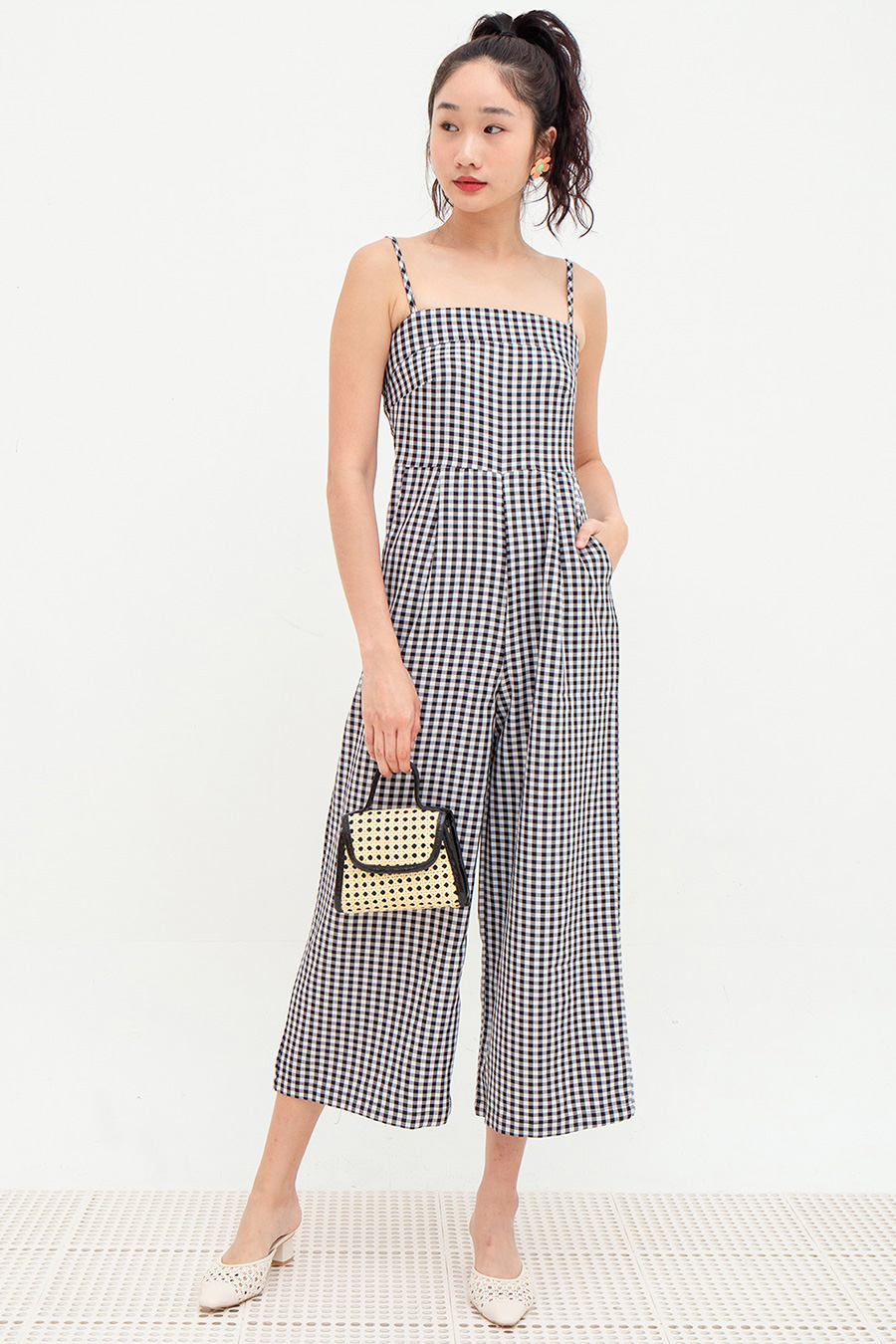 *SALE* PAQUIN JUMPSUIT - GINGHAM