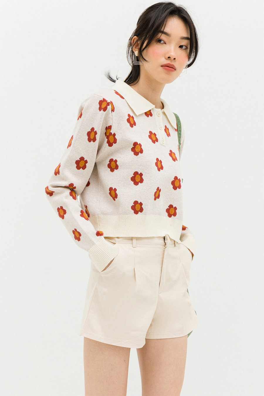 *RESTOCKED* PAULA TOP - CRIMSON POPPY