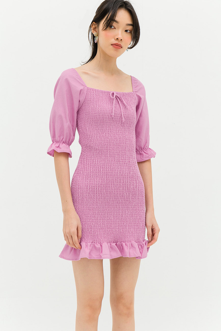 PAULIN DRESS - LIGHT ORCHID