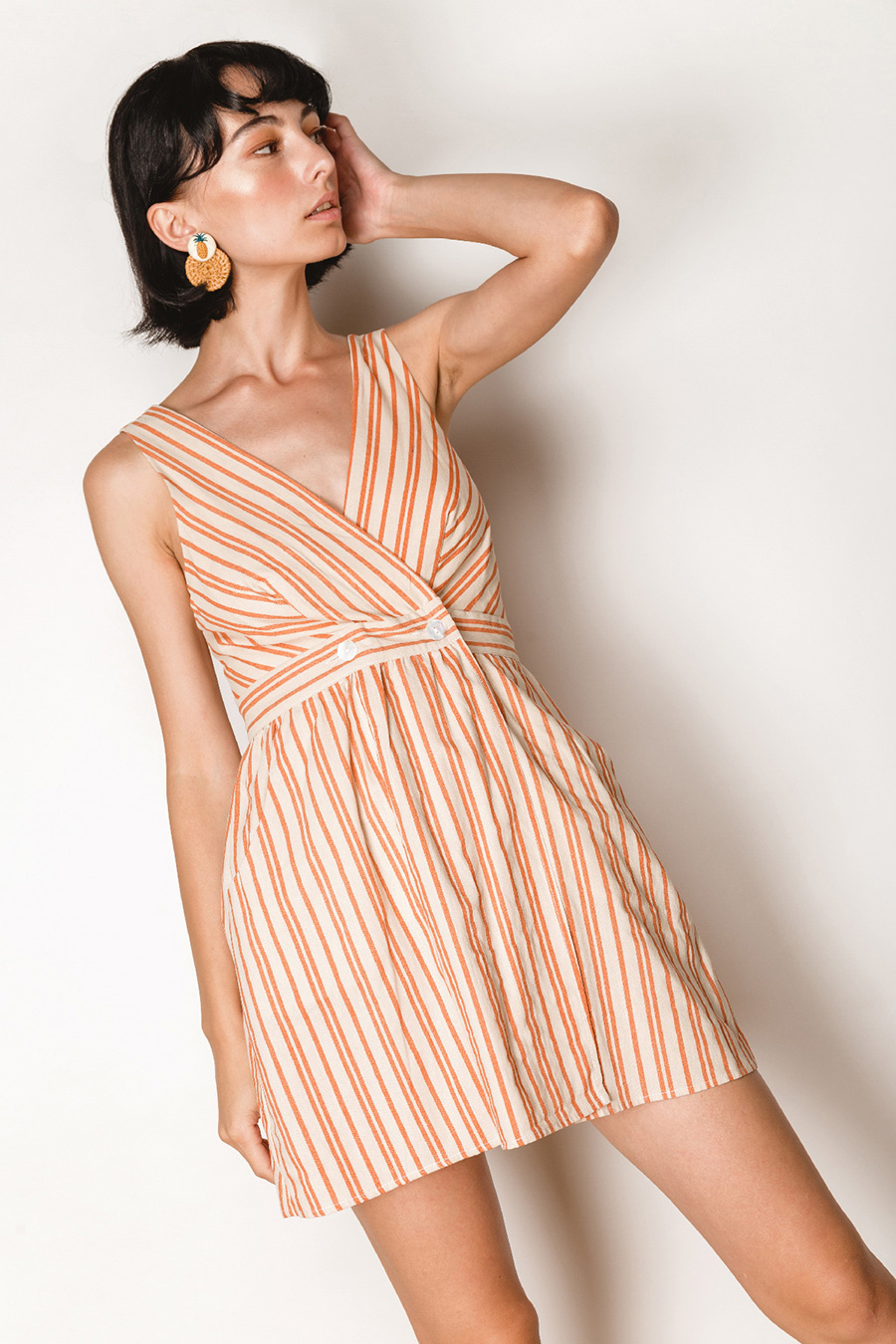 PENNY DRESS - DALLAS STRIPE