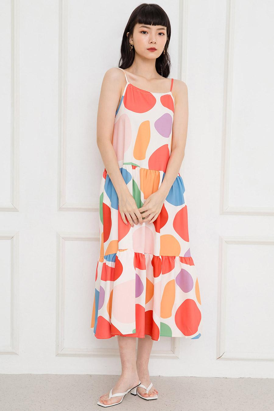 PERRIER DRESS - CRAYOLA