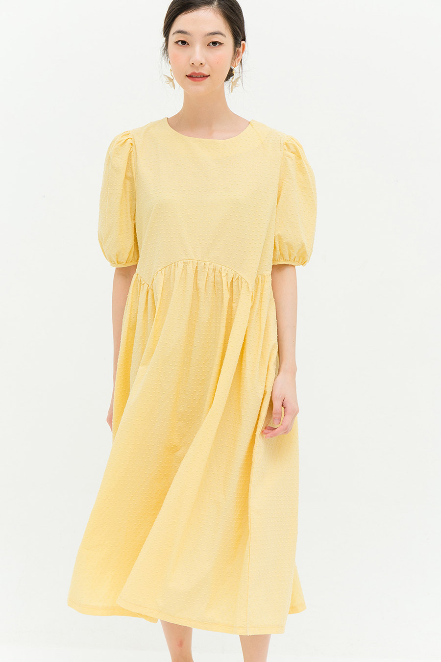 *BO* PHILIPPA DRESS - BUTTER
