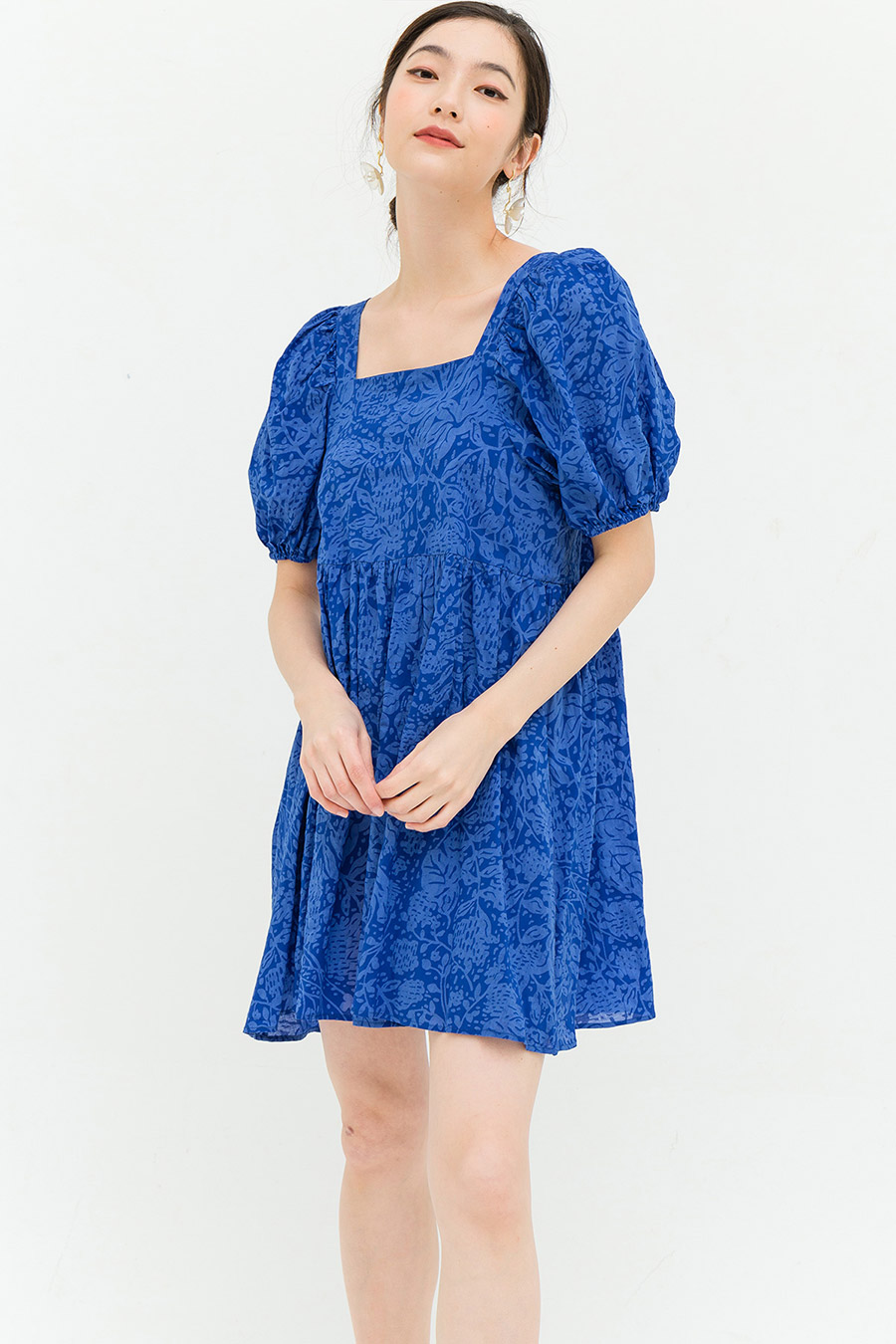 PHYLLIS DRESS - BLUEBERRY