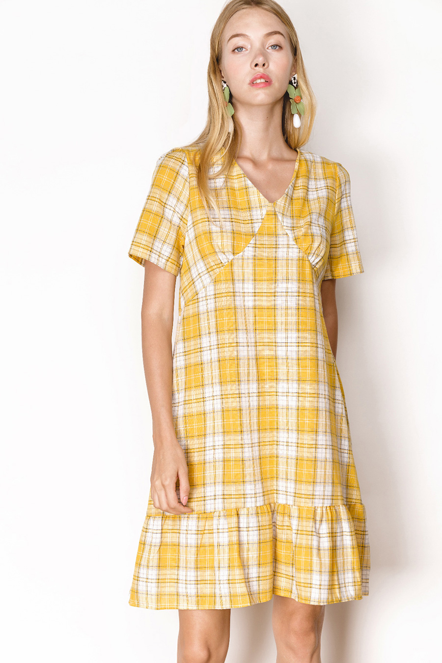 PIPPY DRESS - MELLOW CHECKS