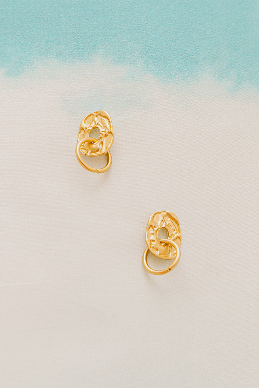 POETRY EARRING - GOLD