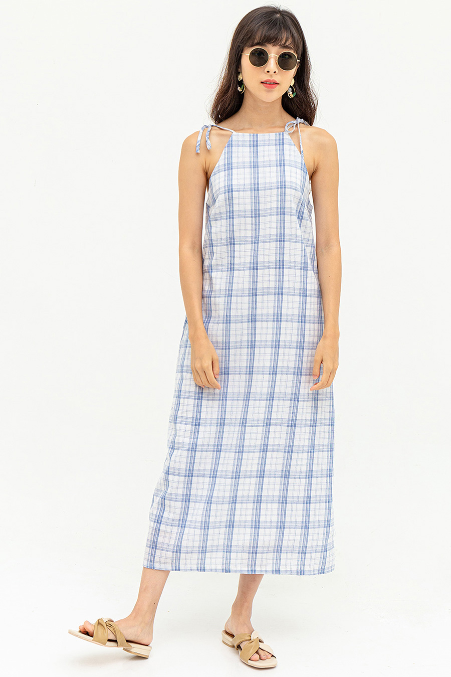 POLONIA DRESS - SERENATA CHECKS [BY MODPARADE]