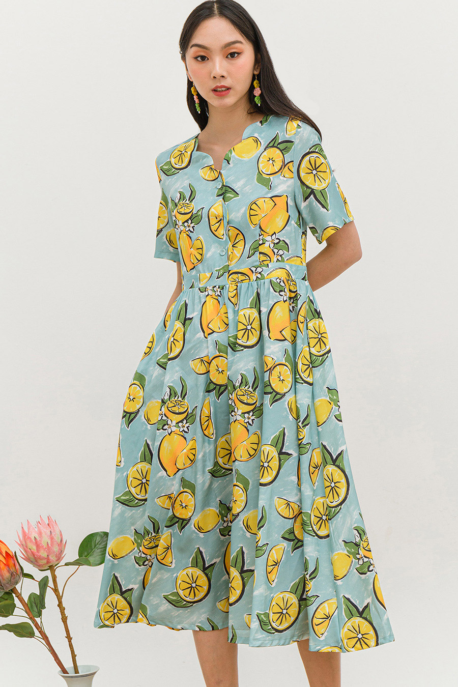 *SALE* PRETRE DRESS - LEMONADE [BY MODPARADE]