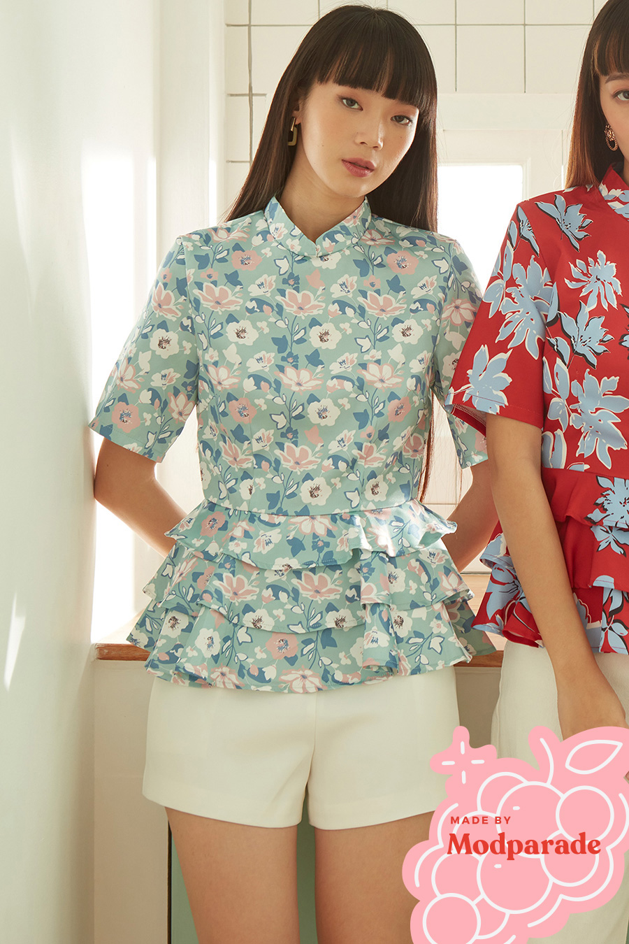 *SALE* QIAO ER TOP - SACHIKO [BY MODPARADE]