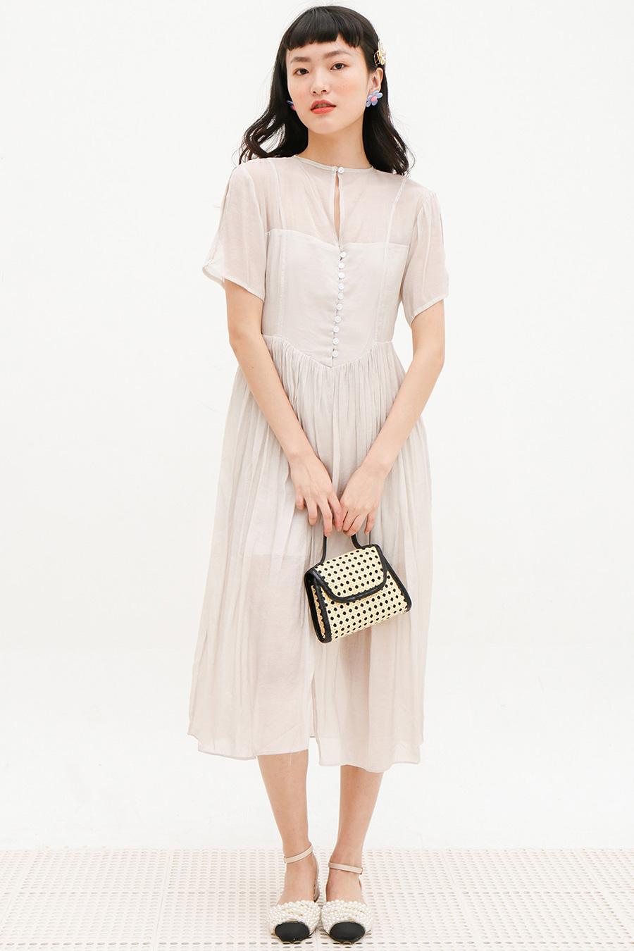 RAPHAELLE DRESS - MIST
