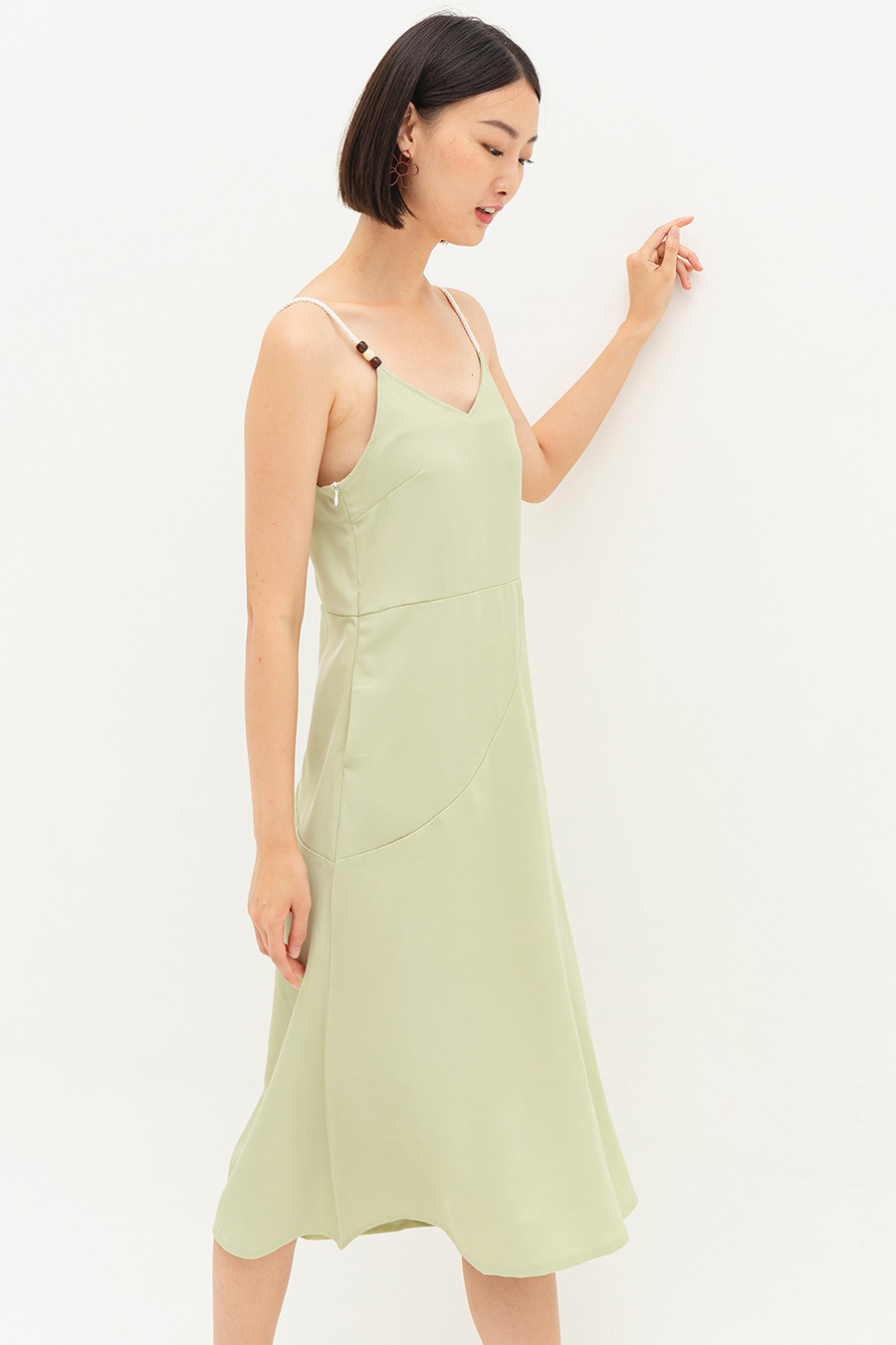 *SALE* REBEKAH DRESS - SAGE [BY MODPARADE]