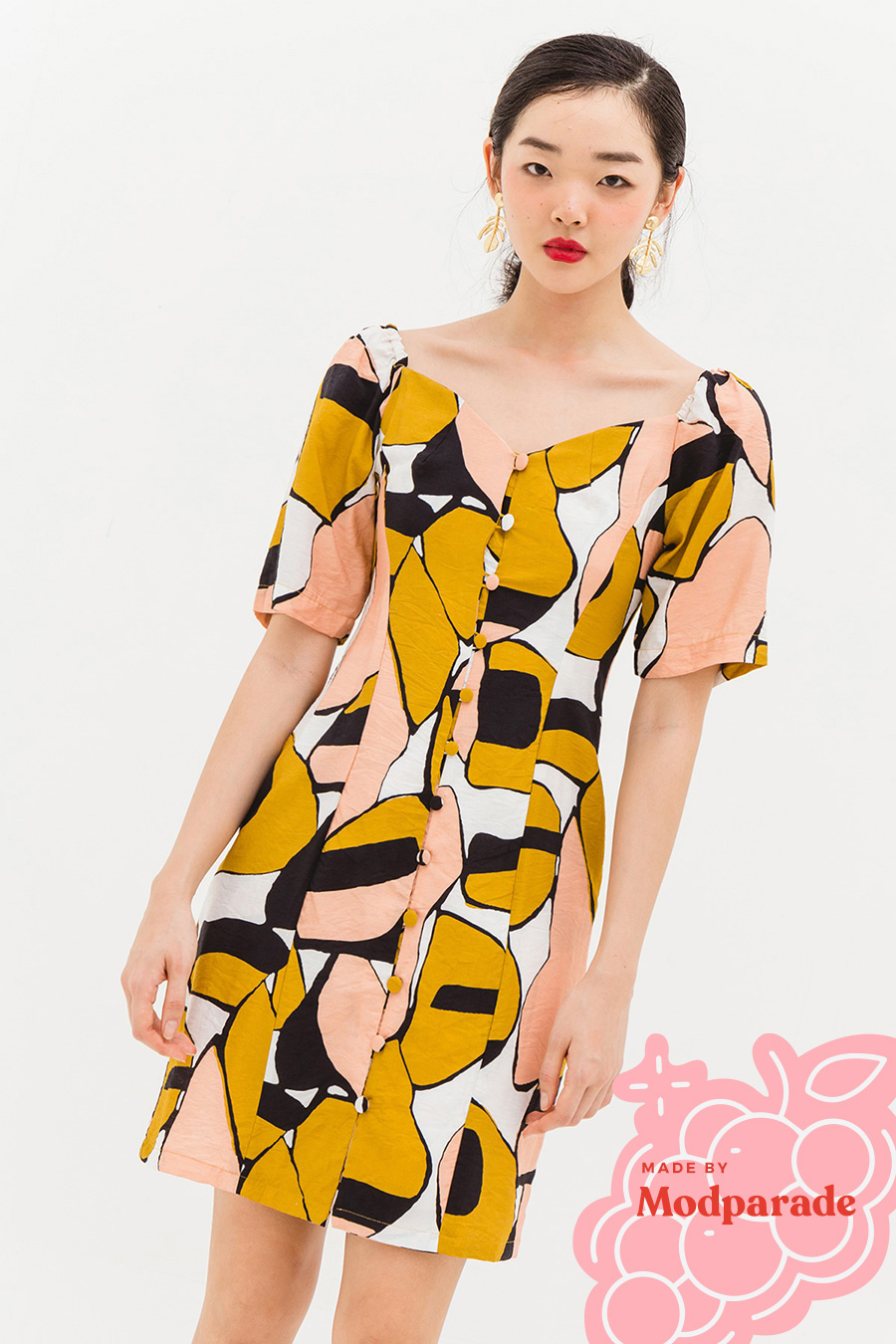 RENE DRESS - PEBBLES [BY MODPARADE]