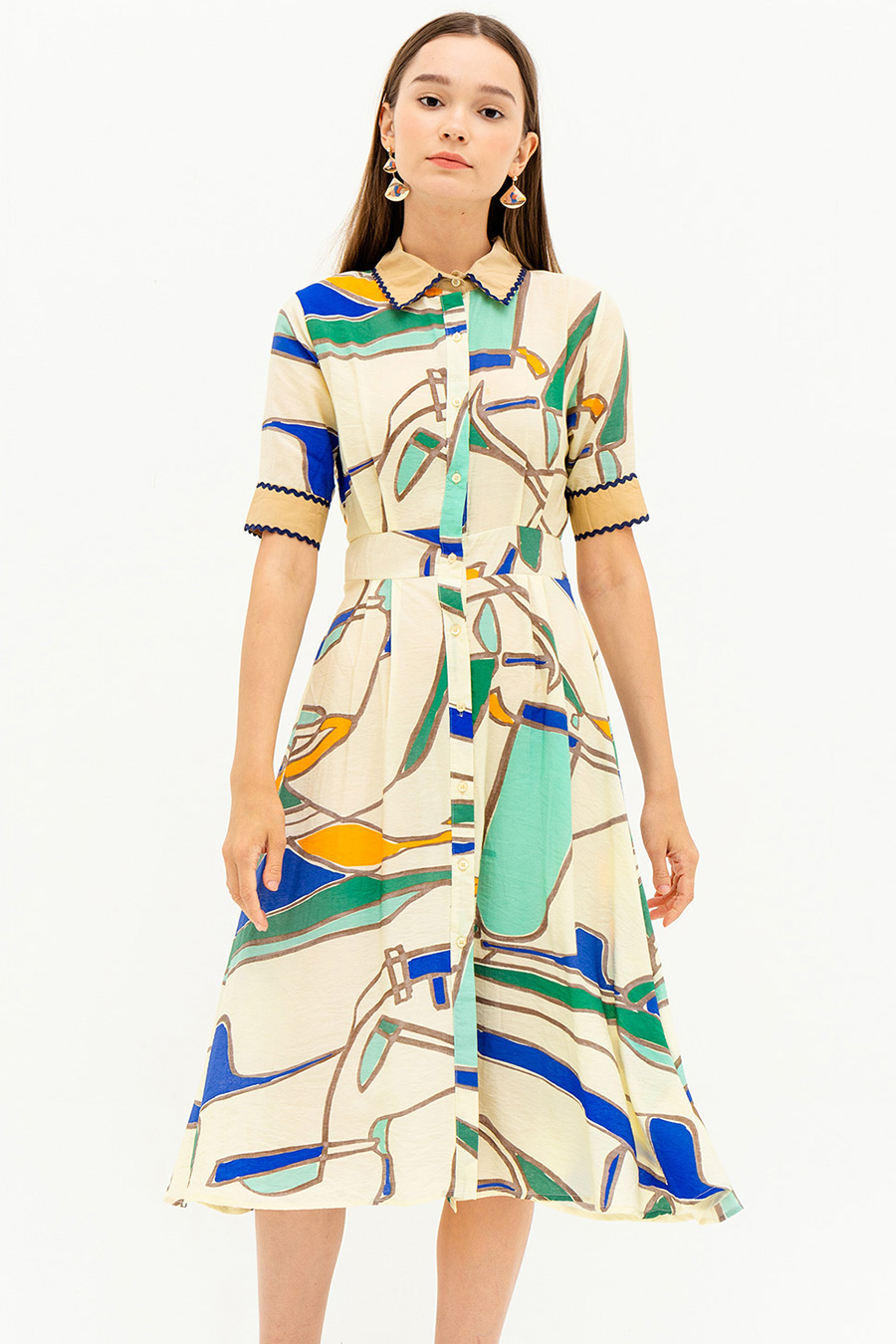 RENEE DRESS - PICASSO