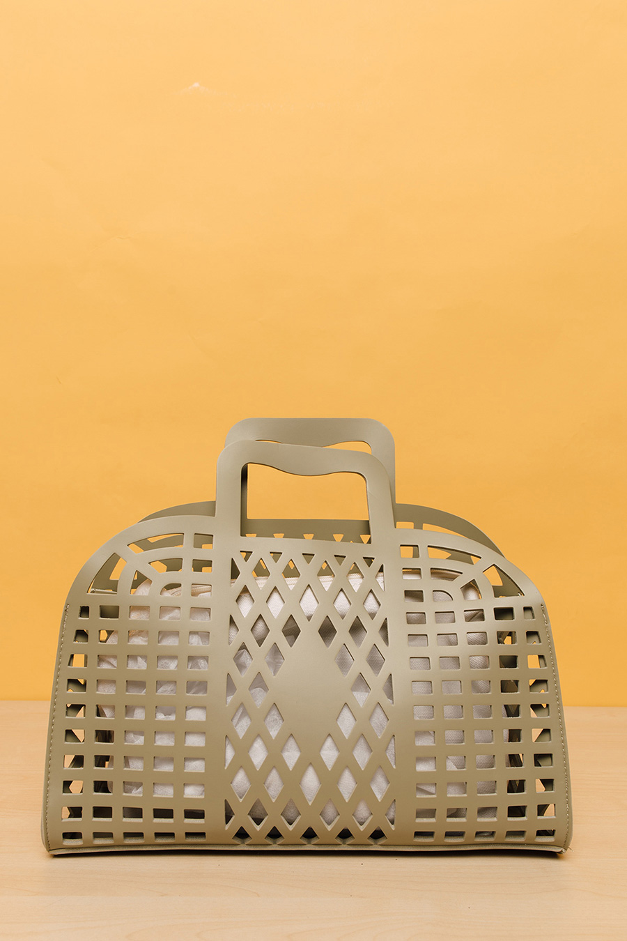 RETRO BASKET BAG - SAGE