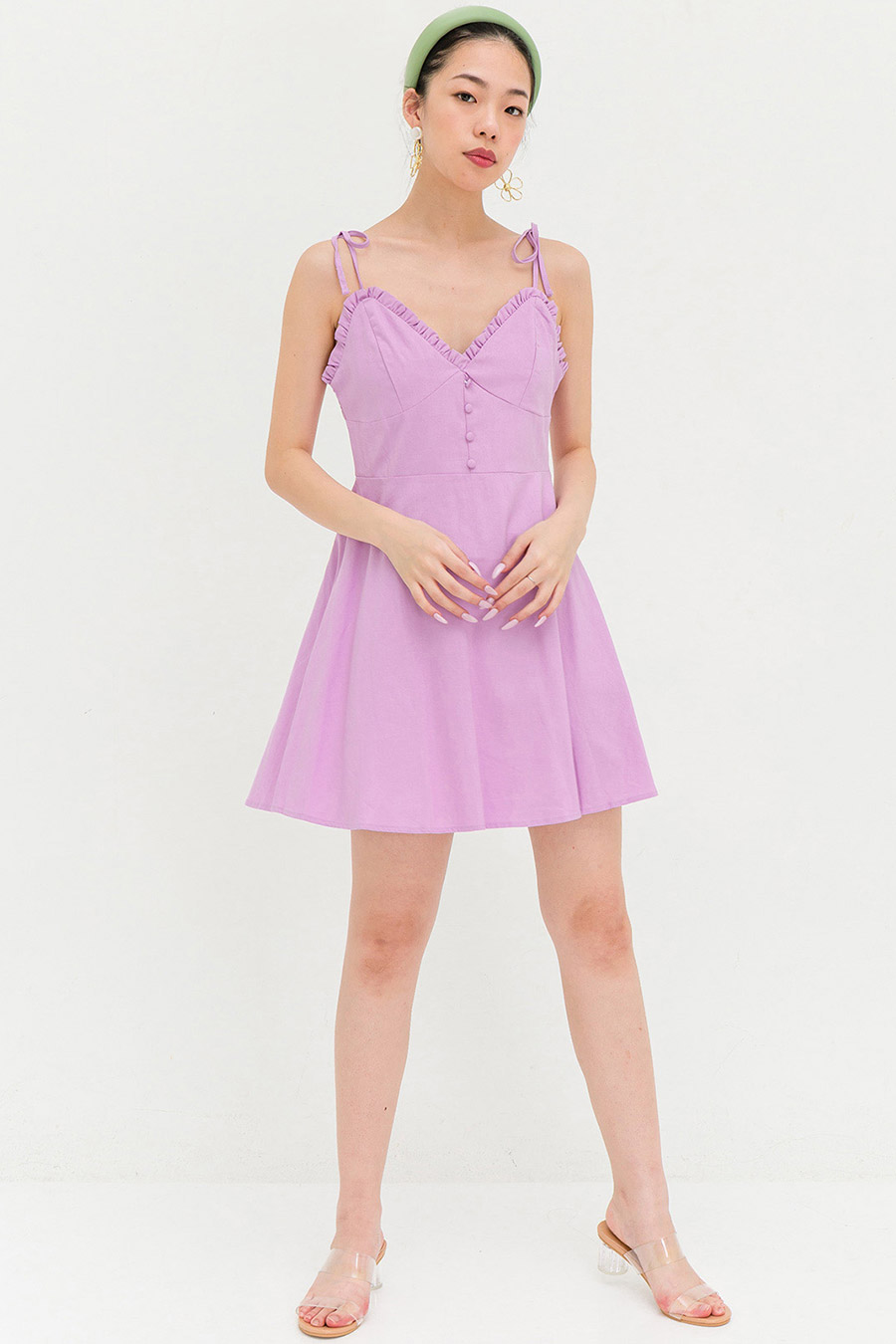 ROSALIE DRESS - LAVENDER