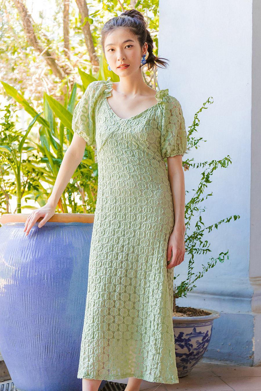 ROSEMARY DRESS - SAGE