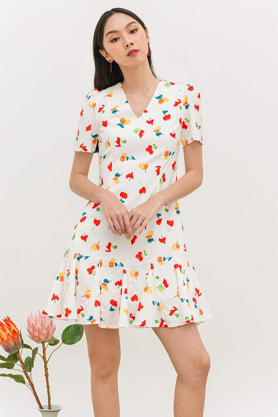 *RESTOCKED* ROXANE DRESS - ROSAMEL  [BY MODPARADE]