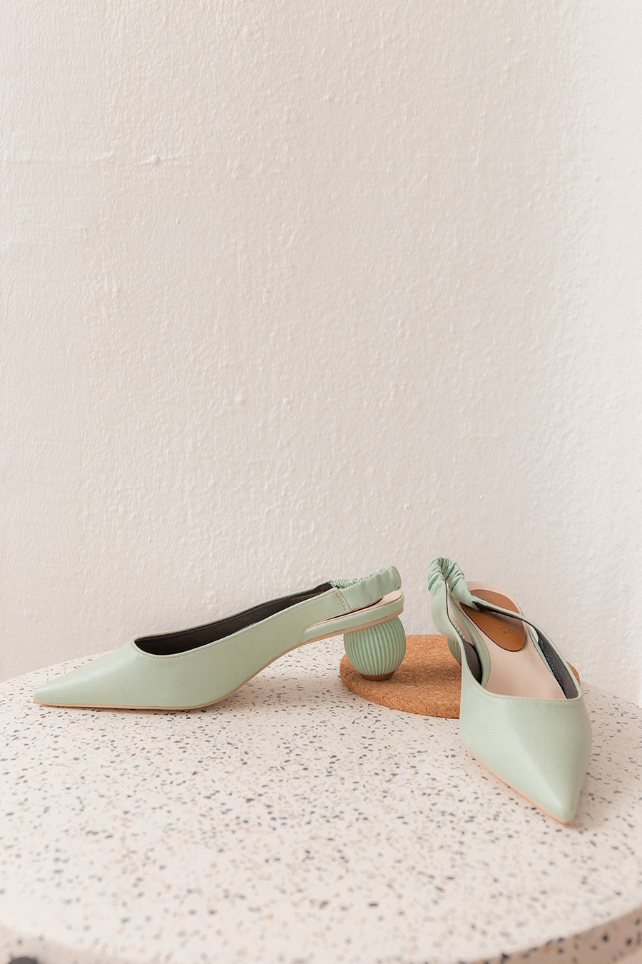 *BO* RUTH SHOES - MINT TEA