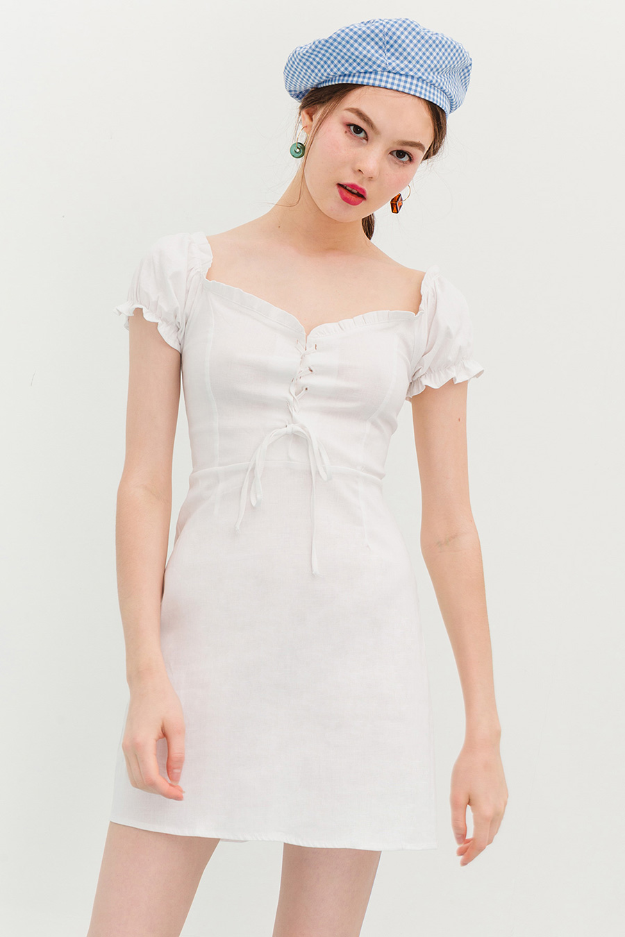 *RESTOCKED* RYAN DRESS - IVORY