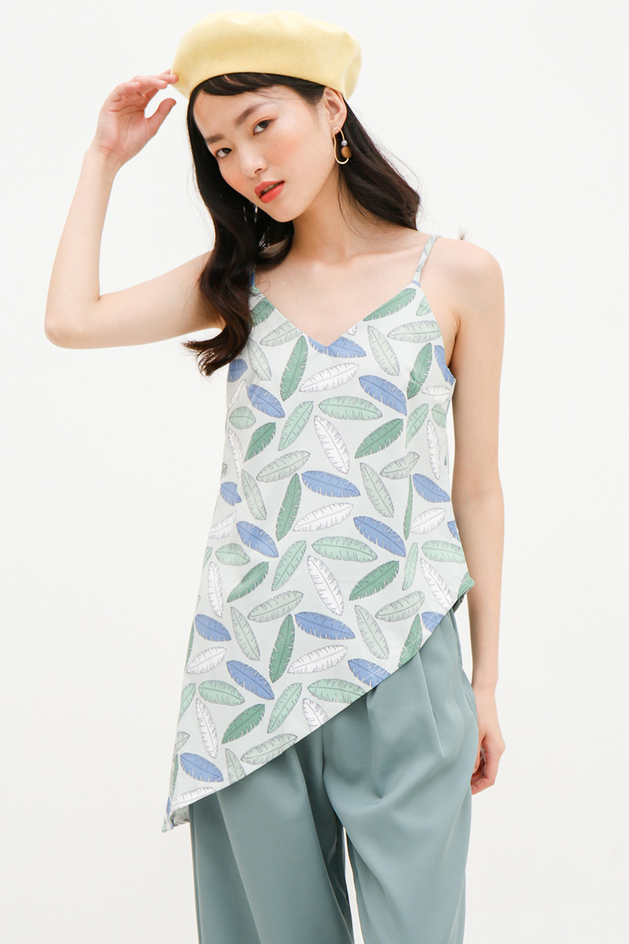 *SALE* SACHIKO TOP - BOTANY [BY MODPARADE]