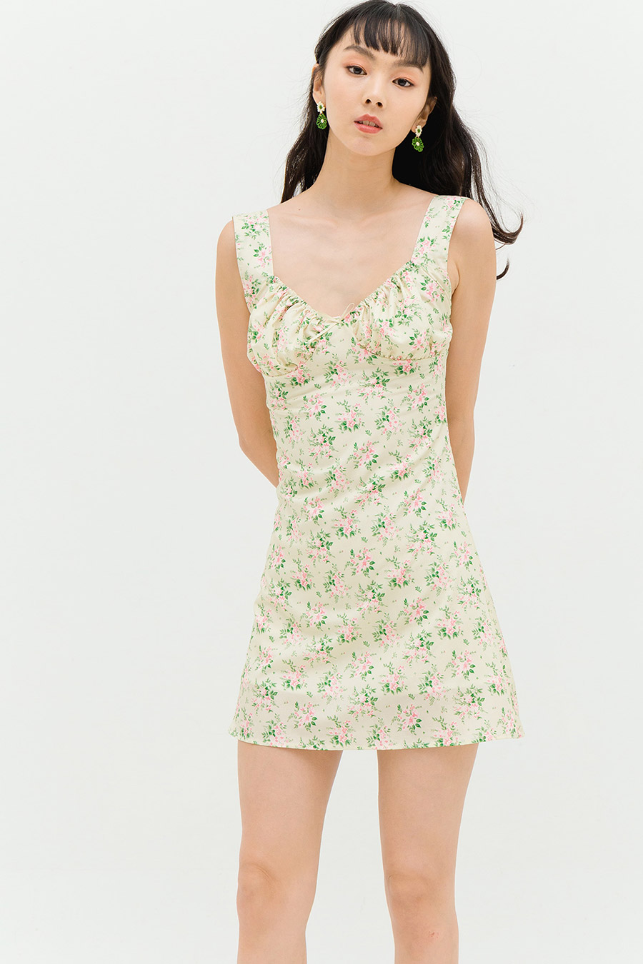 SADIE DRESS - VANILLA FLEUR