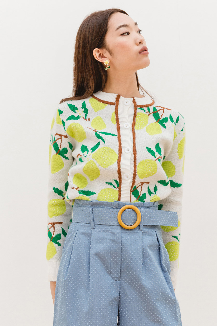 *BO* SANCHO CARDIGAN - LEMONADE