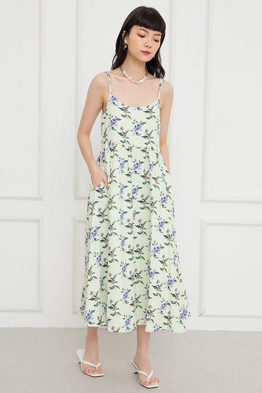 SARA DRESS - BERRIES [BY MODPARADE]