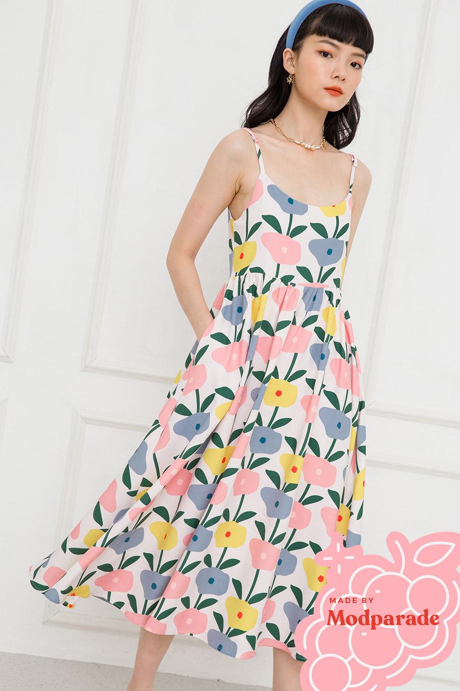 SARA DRESS - TANSY [BY MODPARADE]