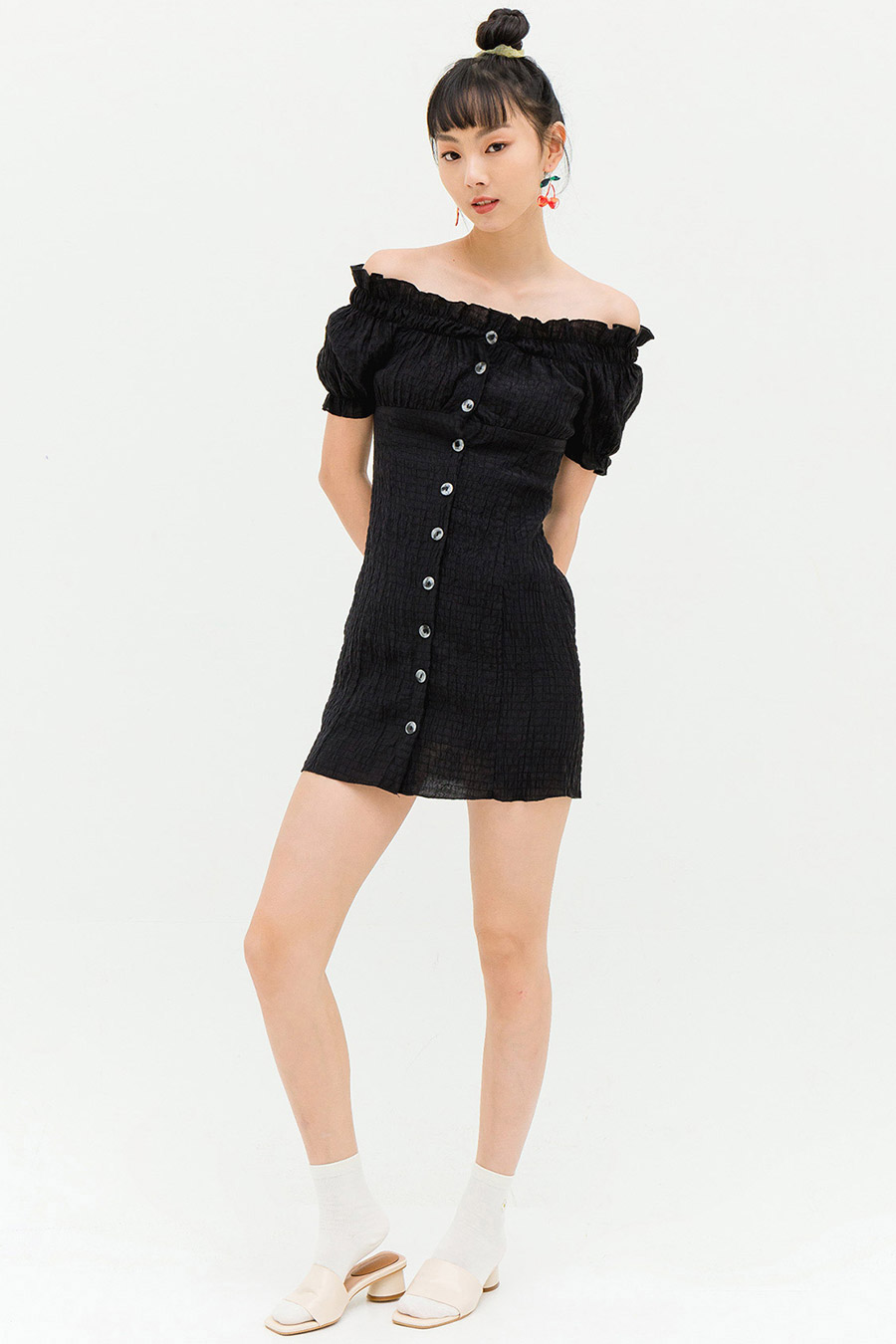 NOVAH DRESS - NOIR