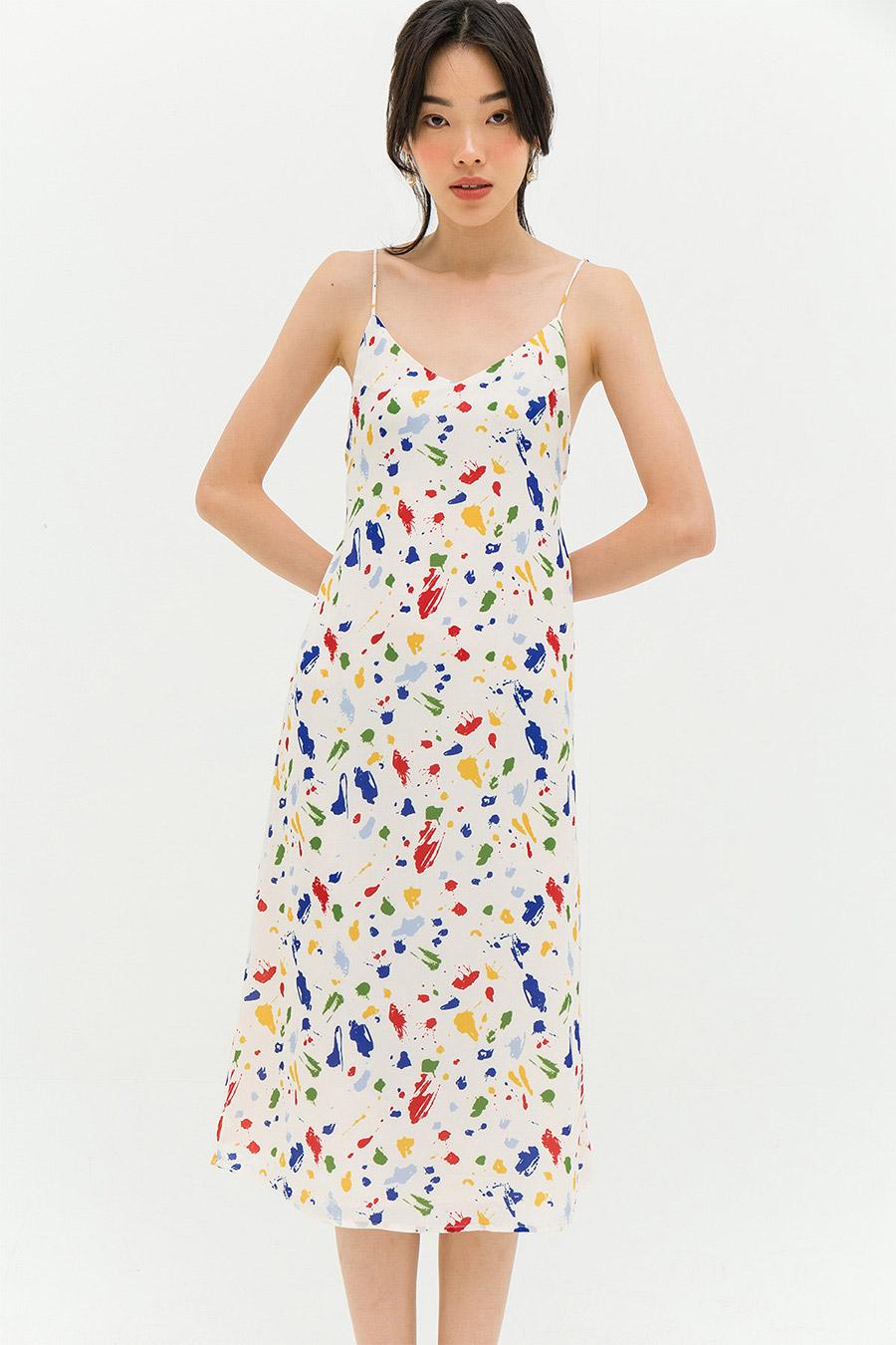 *BO* SIMON DRESS - ART ATTACK