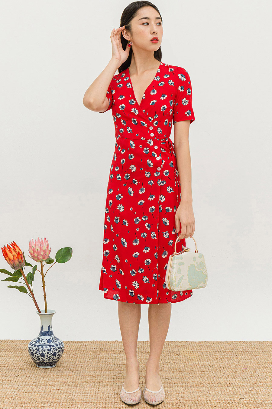 *RESTOCKED* SOFIE DRESS - RHODIA