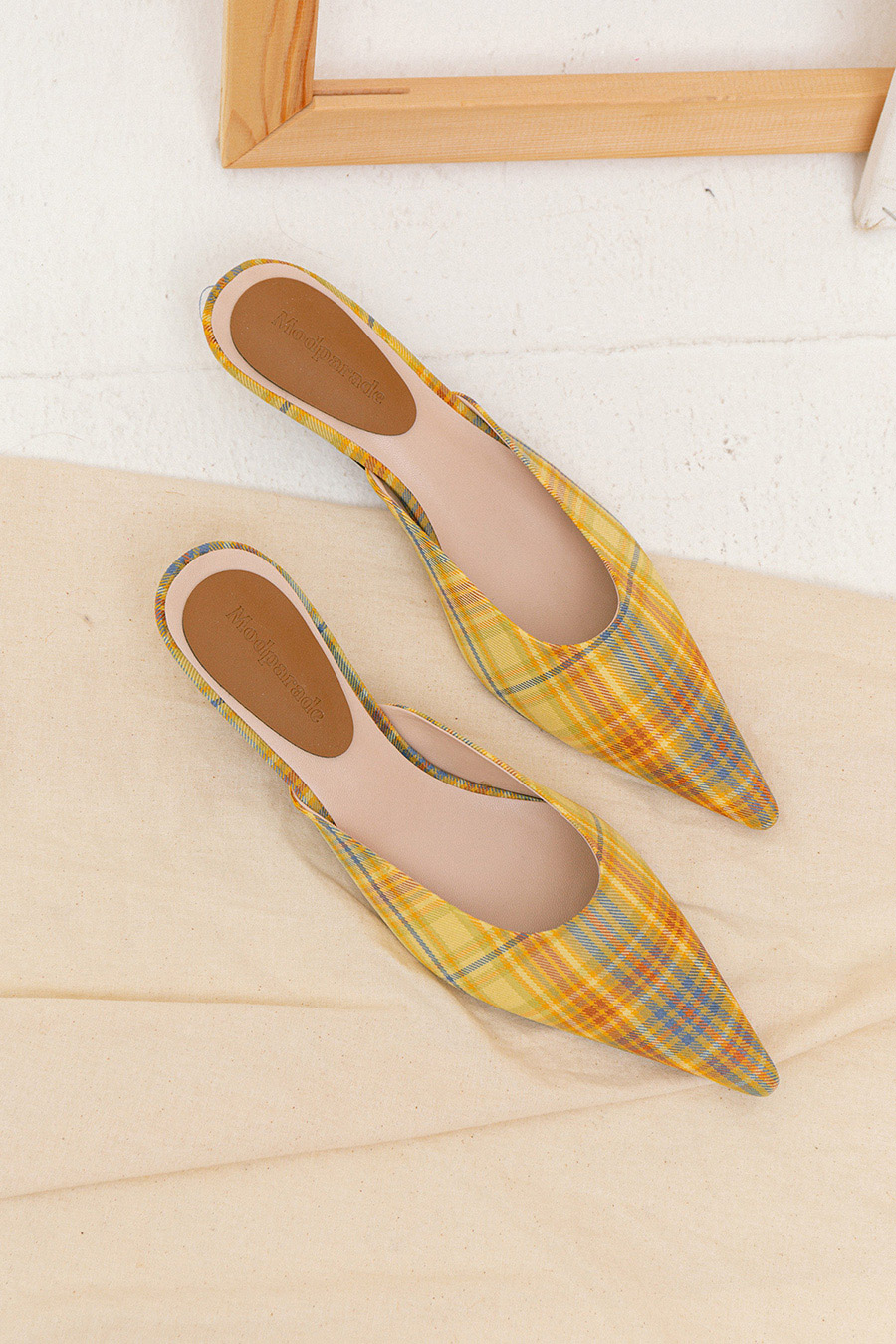 SOLENNE SHOES - BARBERRY